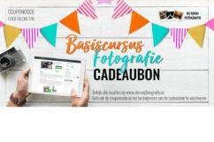Cadeaubon Fotografie Cursus