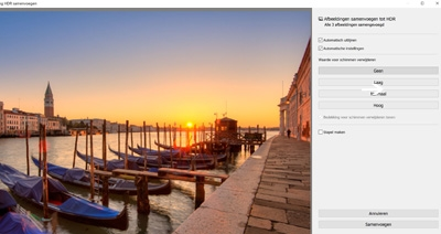 Cursus Adobe Lightroom - Ontwikkelen - HDR / Panorama samenvoegen