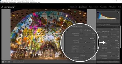 Cursus Adobe Lightroom - Ontwikkelen - Belichting & Kleuren aanpassen