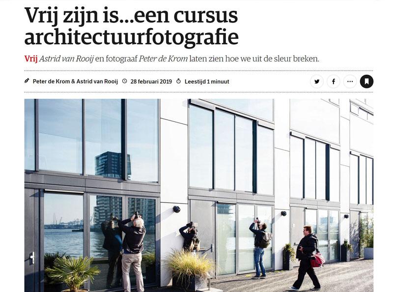 NRC - Rubriek: Vrij - Cursus Architectuurfotografie