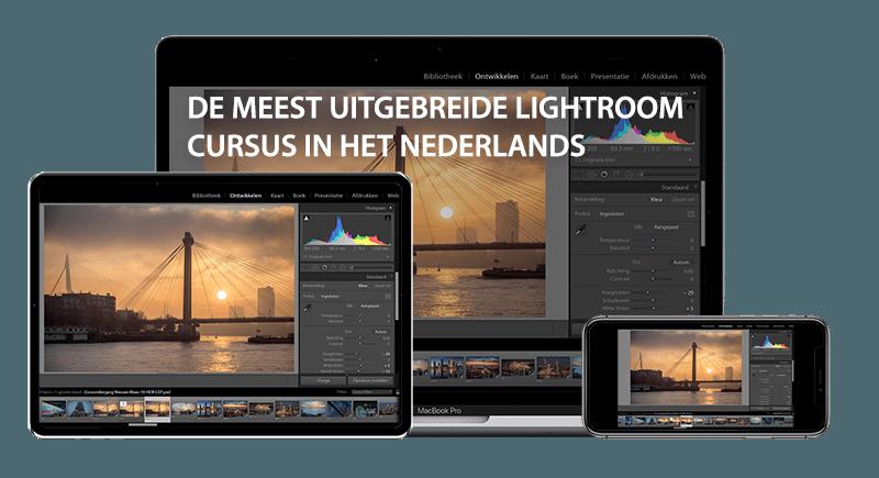 Online Cursus Adobe Lightroom Classic CC - Nederlandstalig