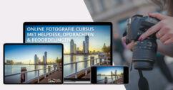 Cursus Online Fotograferen - Levenslang toegang