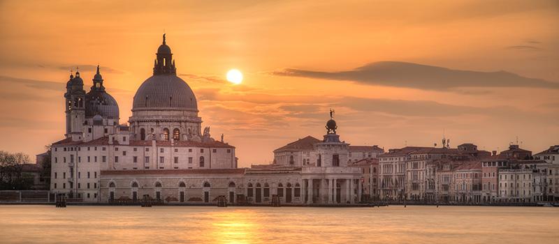 Zonsondergang fotografie tijdens de fotoreis Venetië