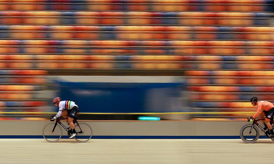 Workshop Sportfotografie - Baanwielrennen fotografie - Anne van Vegchel