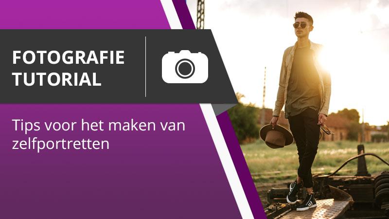 moderne selfies maken met je eigen camera