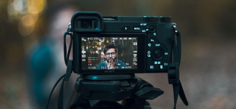 filmen met een fotocamera