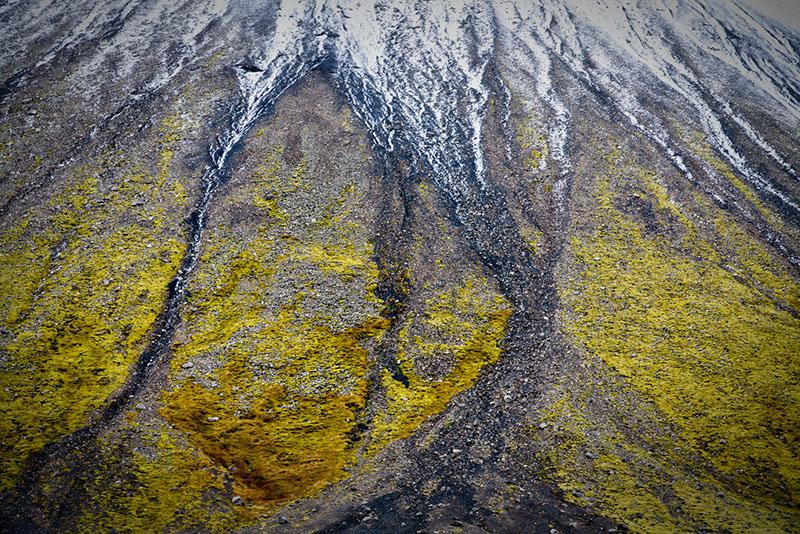 IJslandse landschappen abstract fotograferen