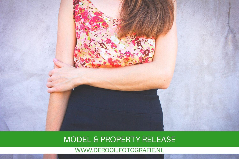 wanneer heb je een model en property release nodig