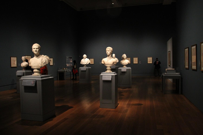 Kunst fotograferen in een museum