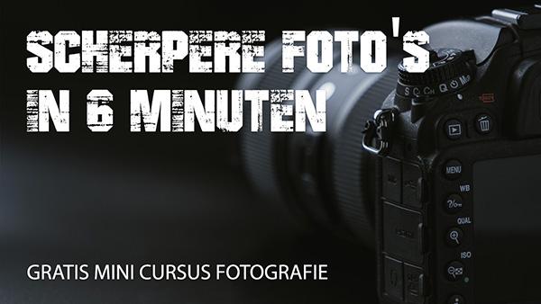 Gratis Fotografie Cursus