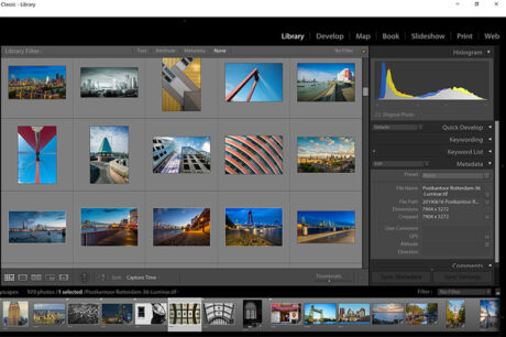Workshop Adobe Lightroom in Rotterdam en Amsterdam