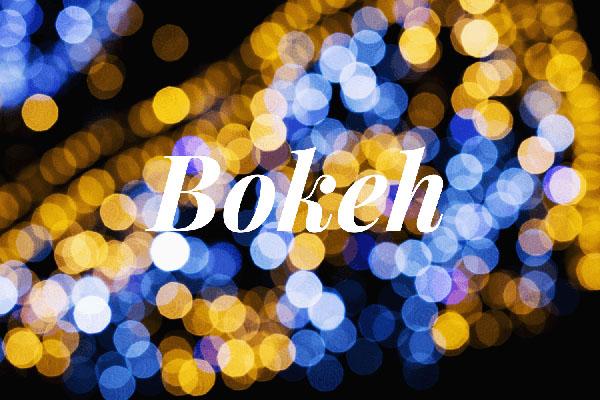 Bokeh: Wat is het?