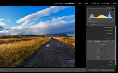Landschapsfoto's bewerken