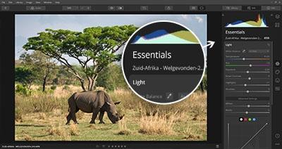 Cursus Luminar 4 - Essentials belichting contrast kleuren aanpassen