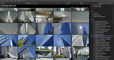 Cursus Luminar 4 - foto's importeren organiseren op hardeschijf