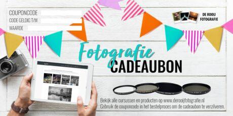 Cadeaubon voor Fotografen