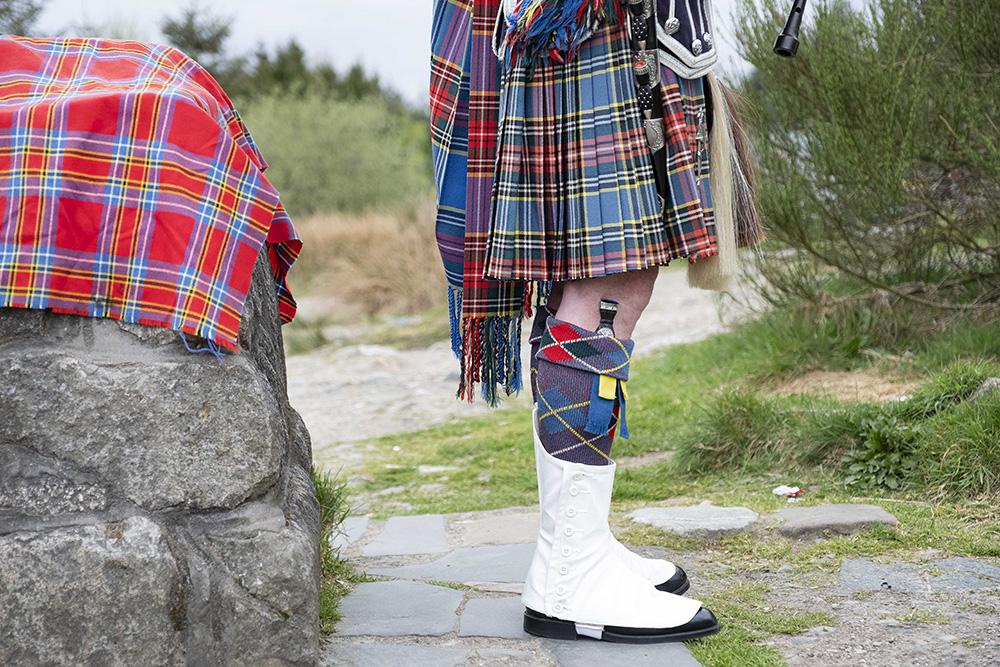Doedelzak muziek in Schotland