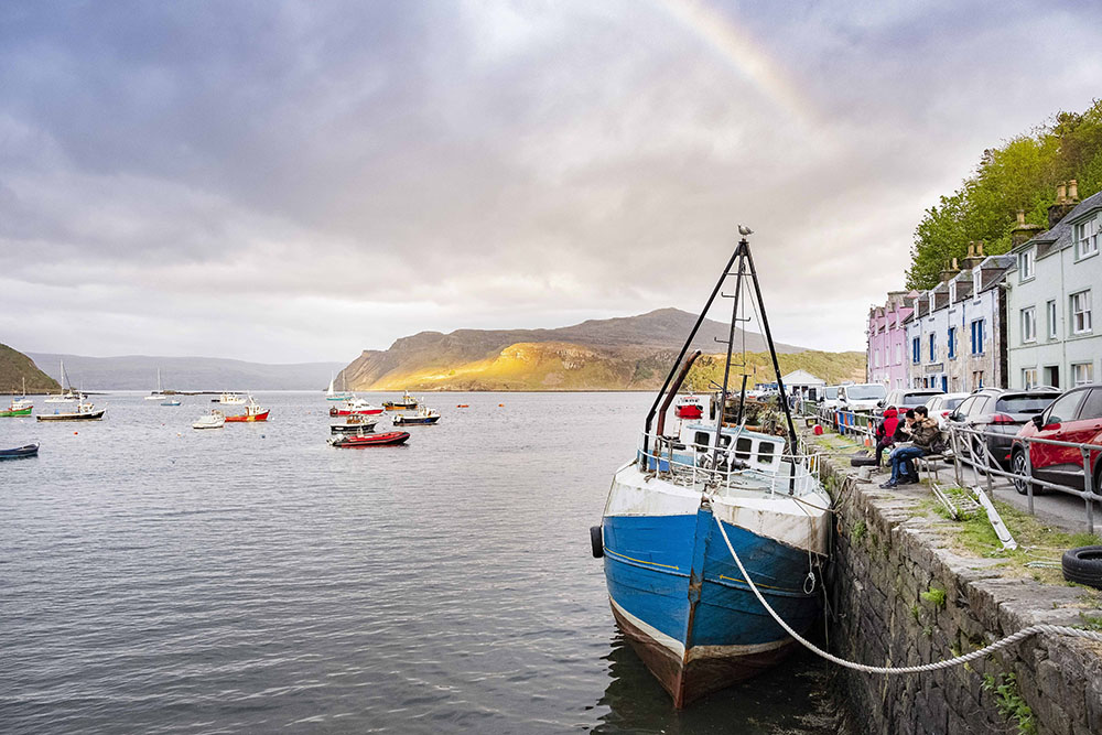 Haven Portree in Isle of Skye