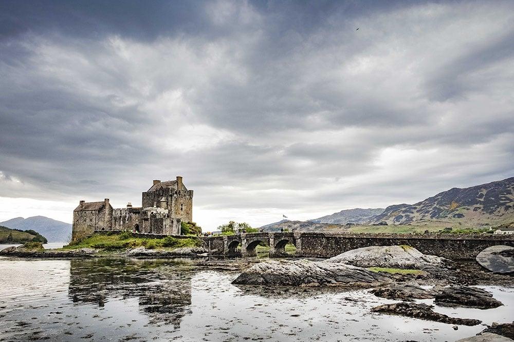 Eilean Donan Castle tijdens de fotoreis in Schotland