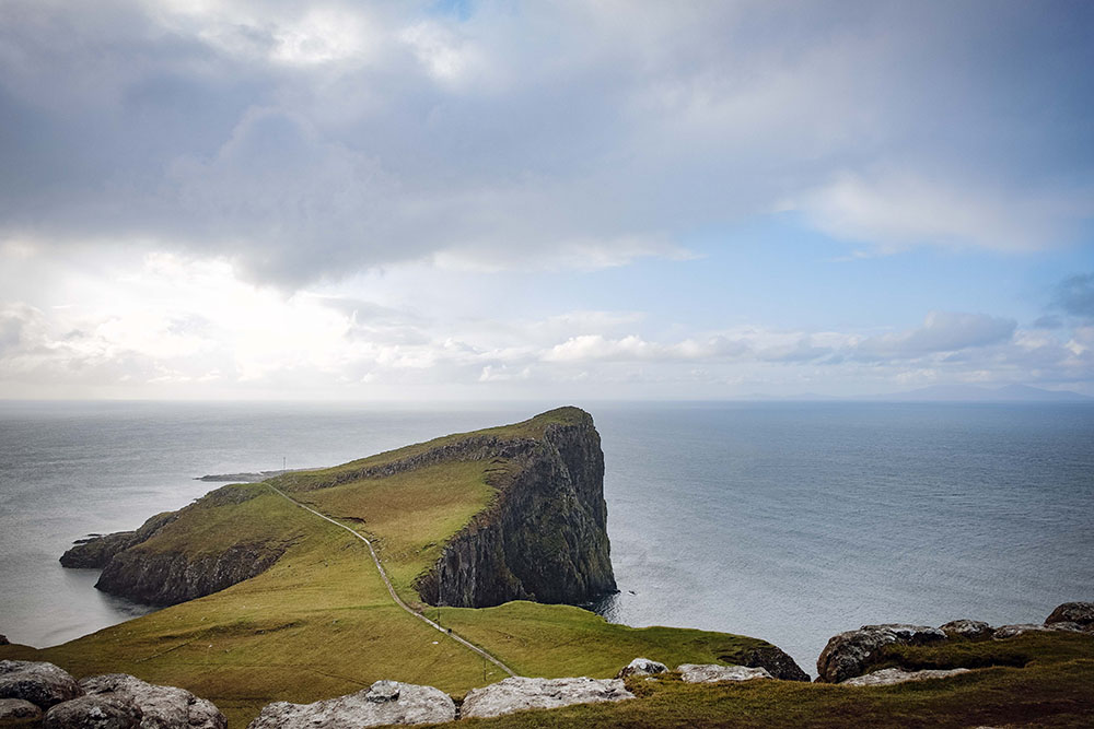 Neist Point Lighthouse in Schotland