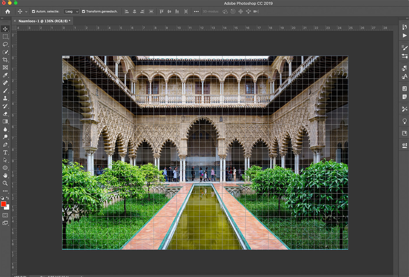 raster photoshop