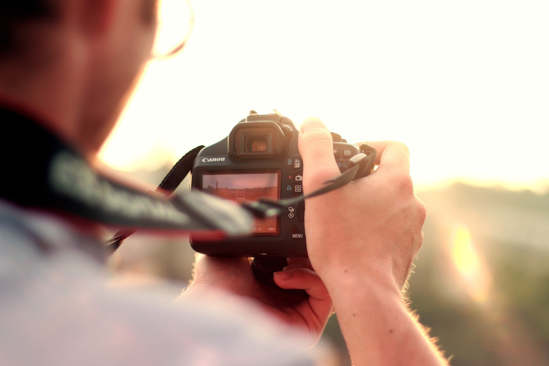 fotograferen zonder bril met dioptrie oog en lenscorrectie