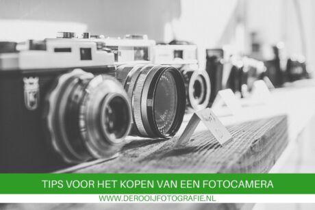 tips voor het kopen van een fotocamera