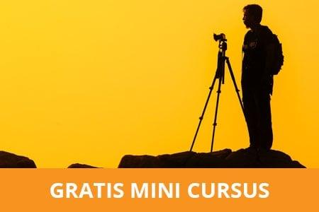 Gratis mini cursus fotografie