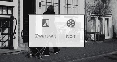 Zwart-wit fotobewerking in Snapseed
