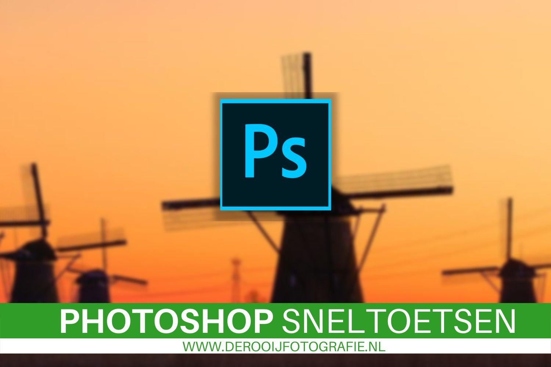 Gratis sneltoetsen voor Photoshop