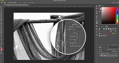 leer ruis verwijderen met deze online adobe photoshop cursus