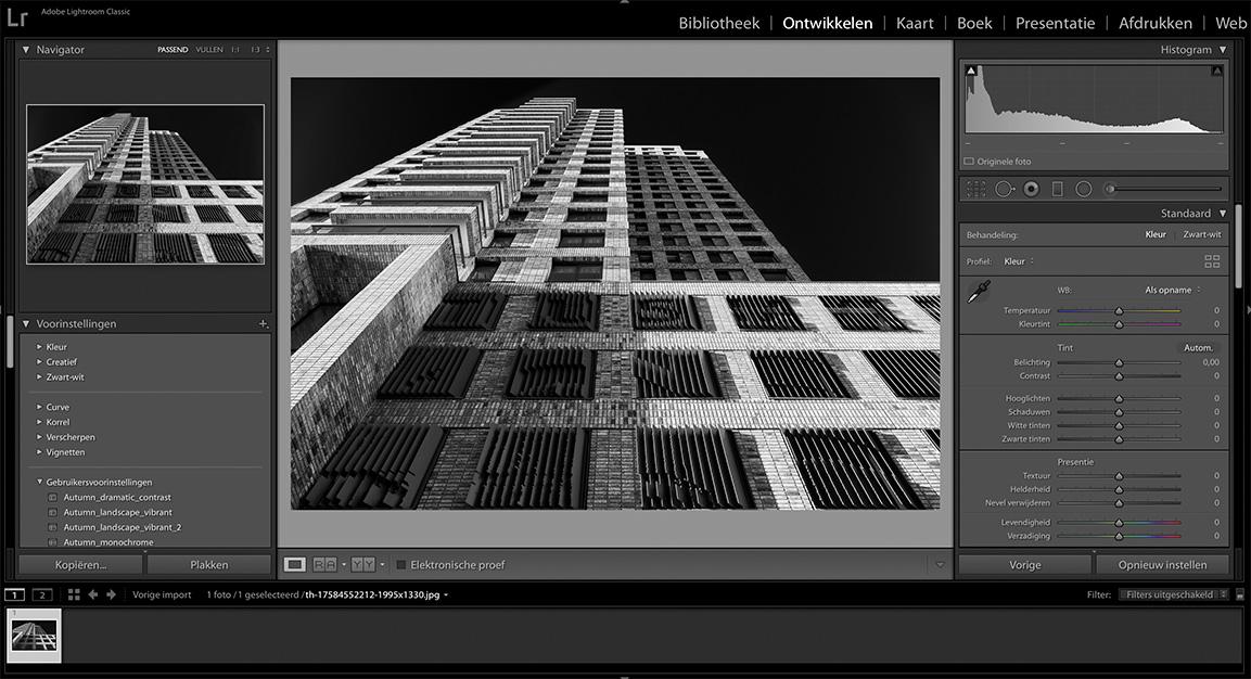 on 1 photo raw vs lightroom interface