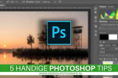 5 handige photoshop tips voor beginners