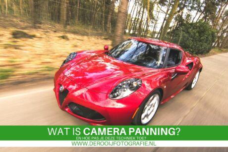 wat is camera panning