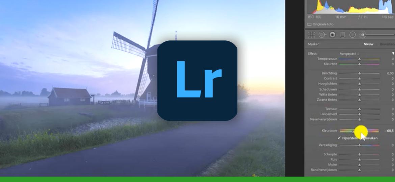 dit zijn de nieuwe functies van Adobe Lightroom update 9.3