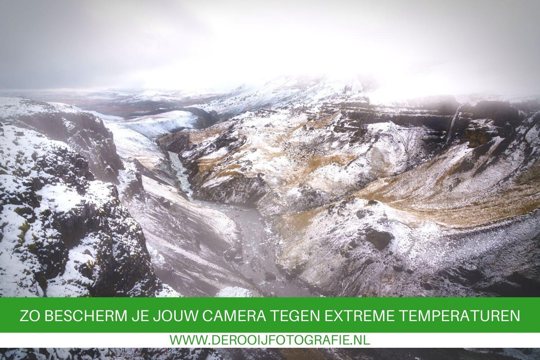 Zo bescherm je jouw camera tegen grote temperatuurwisselingen