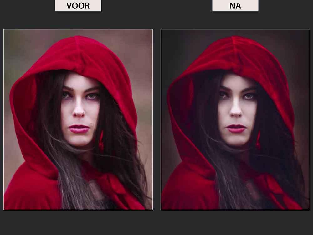 Adobe Photoshop Portretfoto's Bewerken