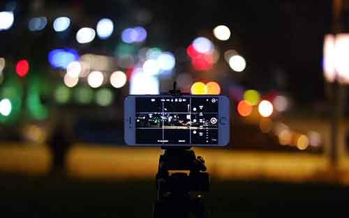 nacht foto's maken met iphone smartphone