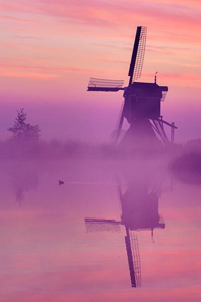 Gratis Fotografieboek - Foto's Zonsopkomst Streefkerk