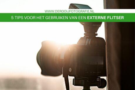 tips voor het fotograferen met een externe reportageflitser