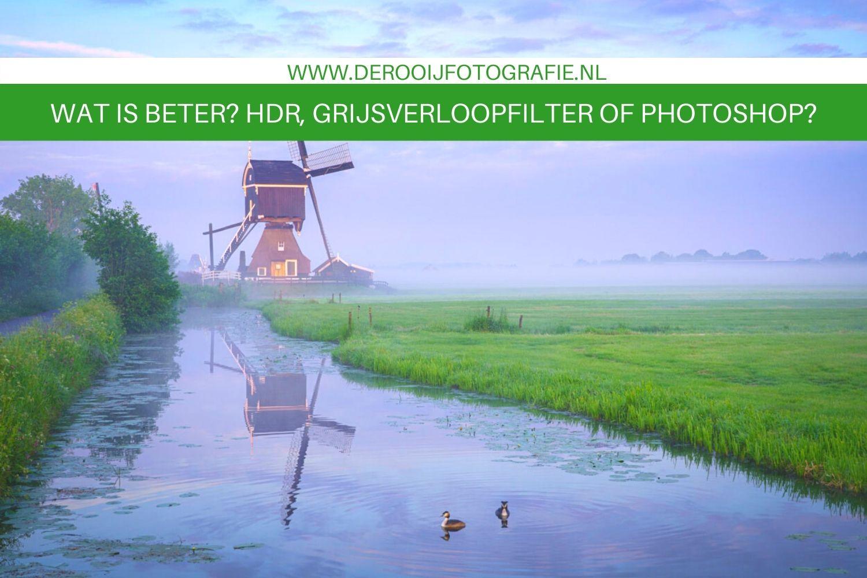 tips voor een goed belichte landschapsfoto