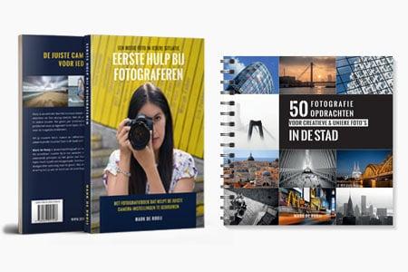 Eerste Hulp Bij Fotograferen + Fotoprojectboek aanbieding