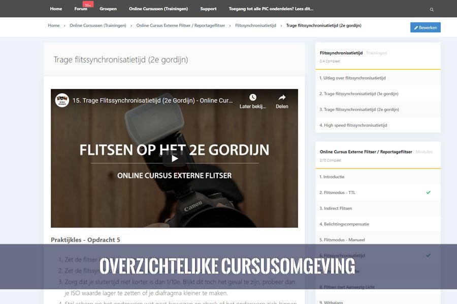 online cursus externe reportage flitser overzicht