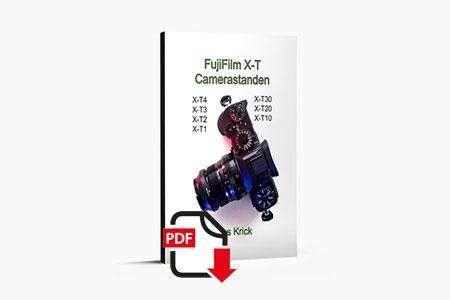 eBook over Fujifilm X-T camera instellingen - auteur Kees Krick