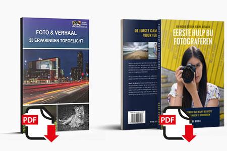 eBook Foto en Verhaal in combinatie met Eerste Hulp Bij Fotograferen