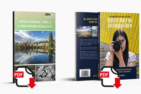 Combinatiedeal Foto en Verhaal deel 2 en Eerste Hulp Bij Fotograferen