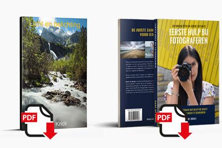 Combinatiedeal eBook Licht en Belichting in combinatie met eBook Eerste Hulp Bij Fotograferen