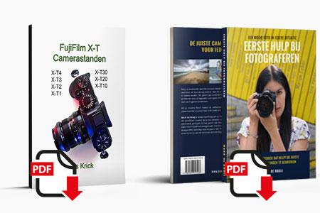 Fujifilm X-T Camerastanden door Kees Krick