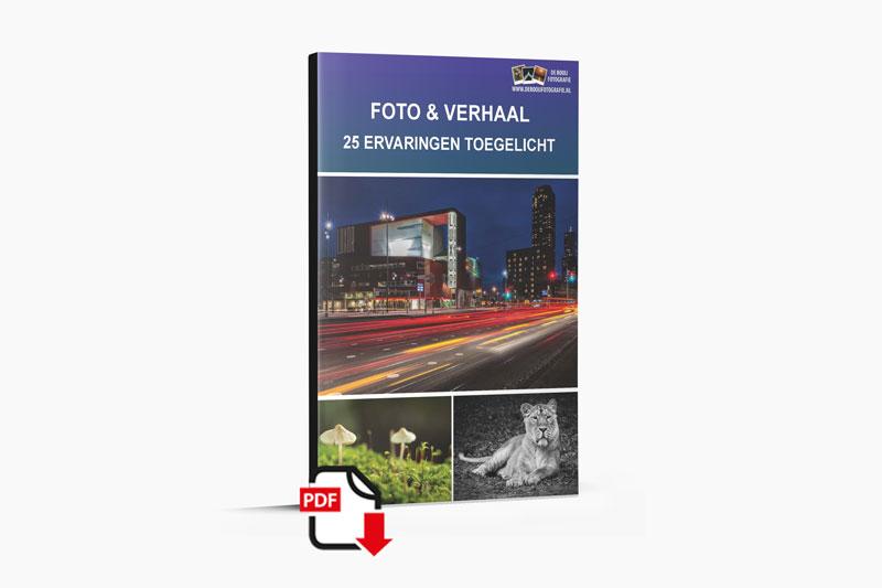 eBook Foto en Verhaal - 25 ervaringen toegelicht