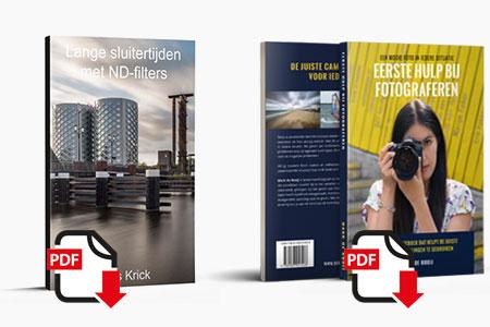 eBook Lange Sluitertijden geschreven door Kees Krick met ND-Filters in combinatie met Eerste Hulp Bij Fotograferen